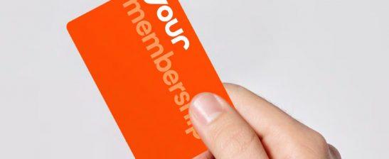 Your Membership card