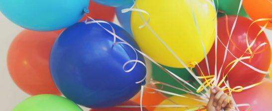 Multicoloured balloons