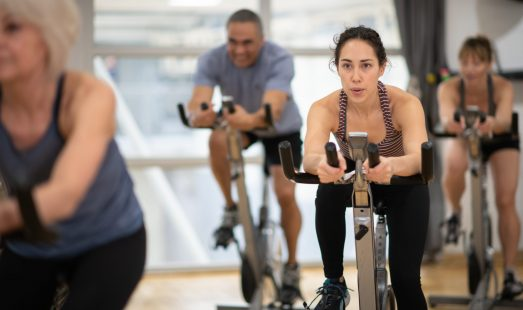 Indoor Cycling group exercise class