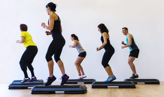 HIITSTEP group exercise class