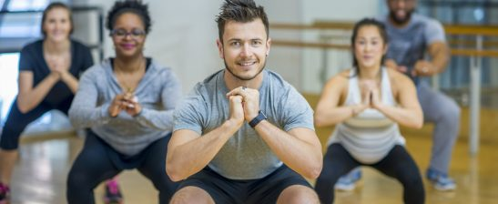 Tabata group exercise class