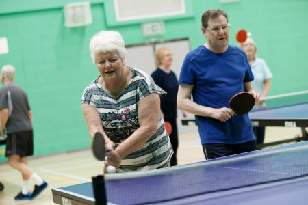 Older Adults Table Tennis
