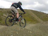 Mountain biking at Hollingworth Lake