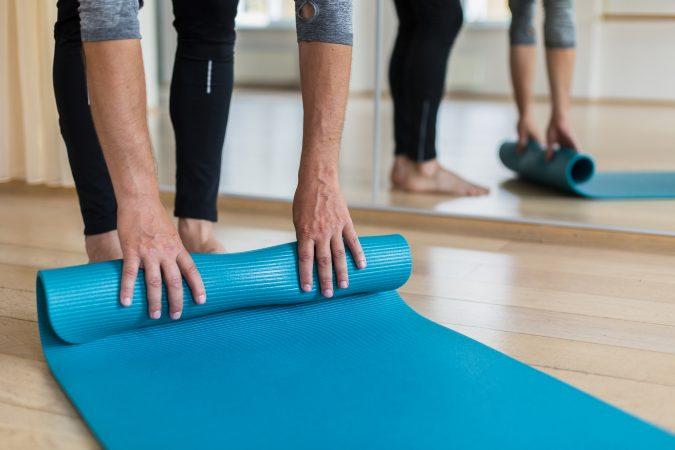Pilates class image