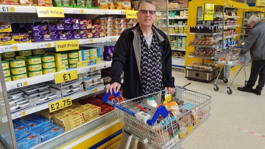 Barry Woodburn shopping
