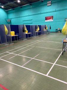 Vaccination centre - Littleborough Sports Centre