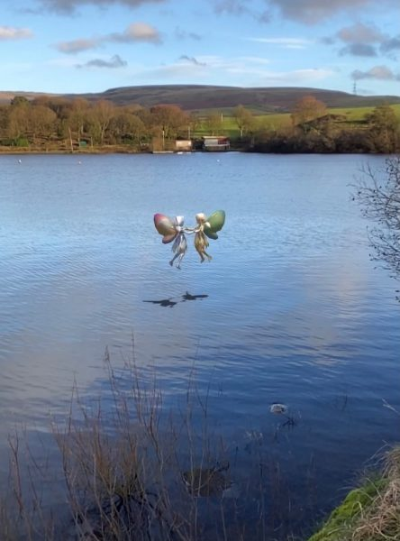 Walking app helps families discover zombies and dinosaurs in Hollingworth Lake and Country Park