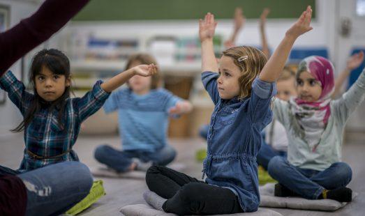 Children & Young people yoga in school
