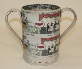 What's Changed? 10. Ceramic loving cup c.1820–50