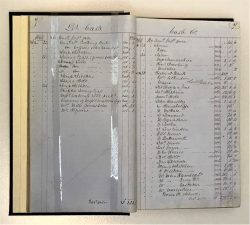 What's Changed? 17. 'Cotton Famine' relief fund cash book, 1863–65