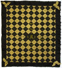 What' Changed? 20. Autograph quilt, 1895