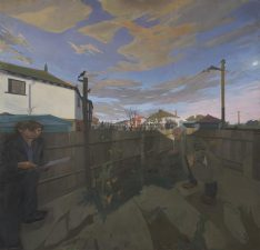 What's Changed? 36. Crescent Road II (the artist and his grandfather), 1963–76