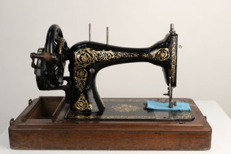 What's Changed? 41. Hand-operated Singer sewing machine, c.1880–1900