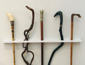 What's Changed? 55. Selection of walking sticks, date unknown