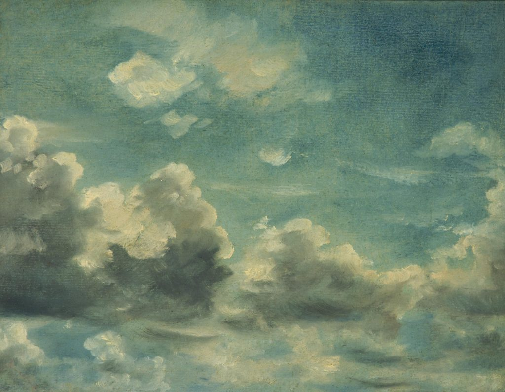 What's Changed? 60. Study of Cumulus Clouds, probably 1820s