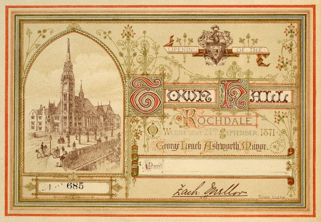 Town Hall ephemera
