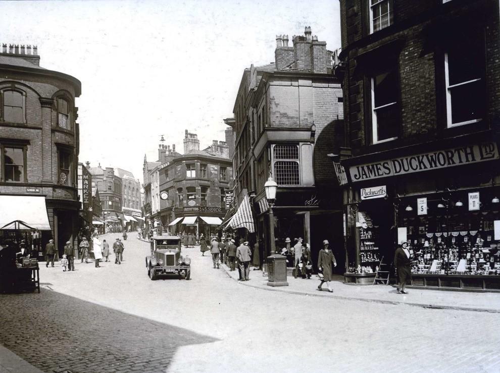 Yorkshire Street in 1925