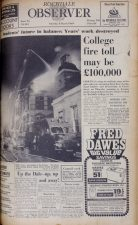 Article from the Rochdale Observer about the fire in 1969