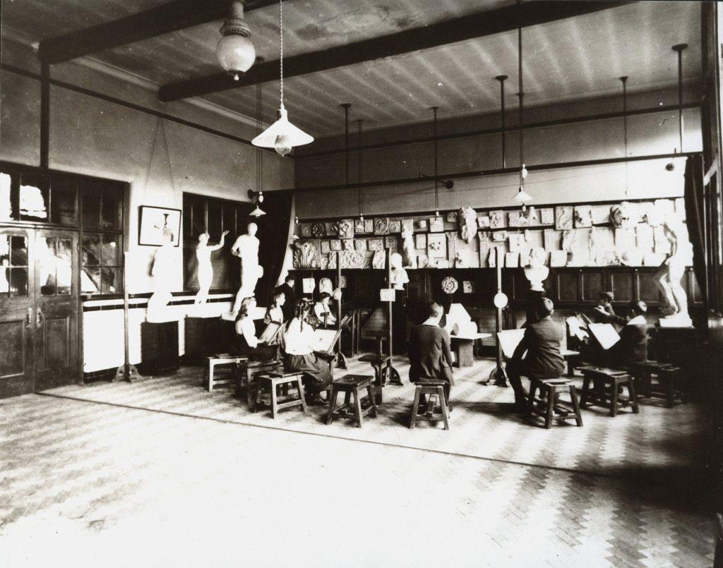Interior of the School of Art, 1907