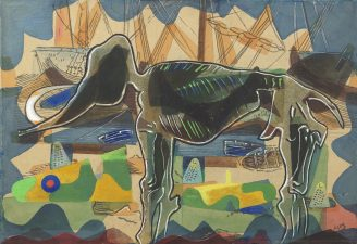 We Can Do It. War's Other Voices. Untitled, c.1940 Eileen Agar (1899–1991)