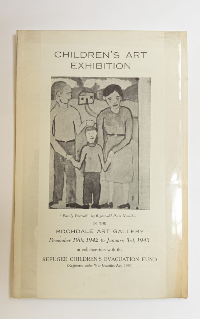 We Can Do It. War's Other Voices. Exhibition brochure for 'Through the Eyes of a Child', 1942