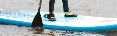 Stand Up Paddleboard session at Hollingworth Lake