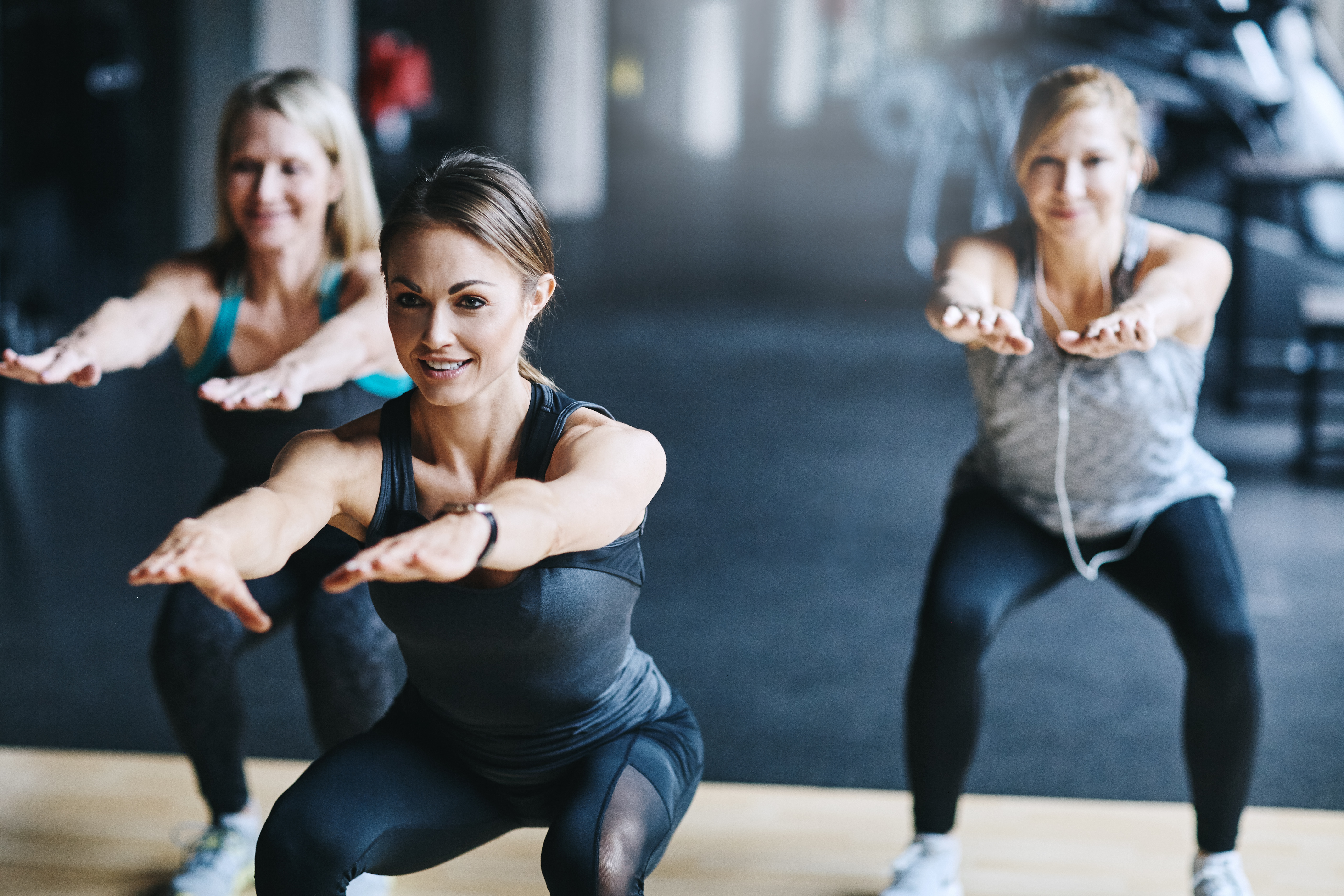 High Intensity Interval Training (HIIT) group exercise class