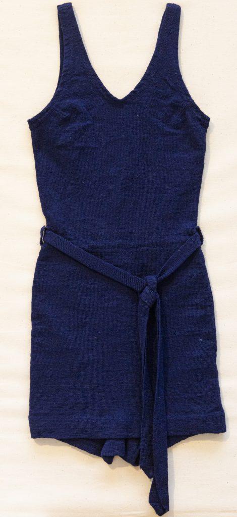 61. Woollen swimming costume, 1930