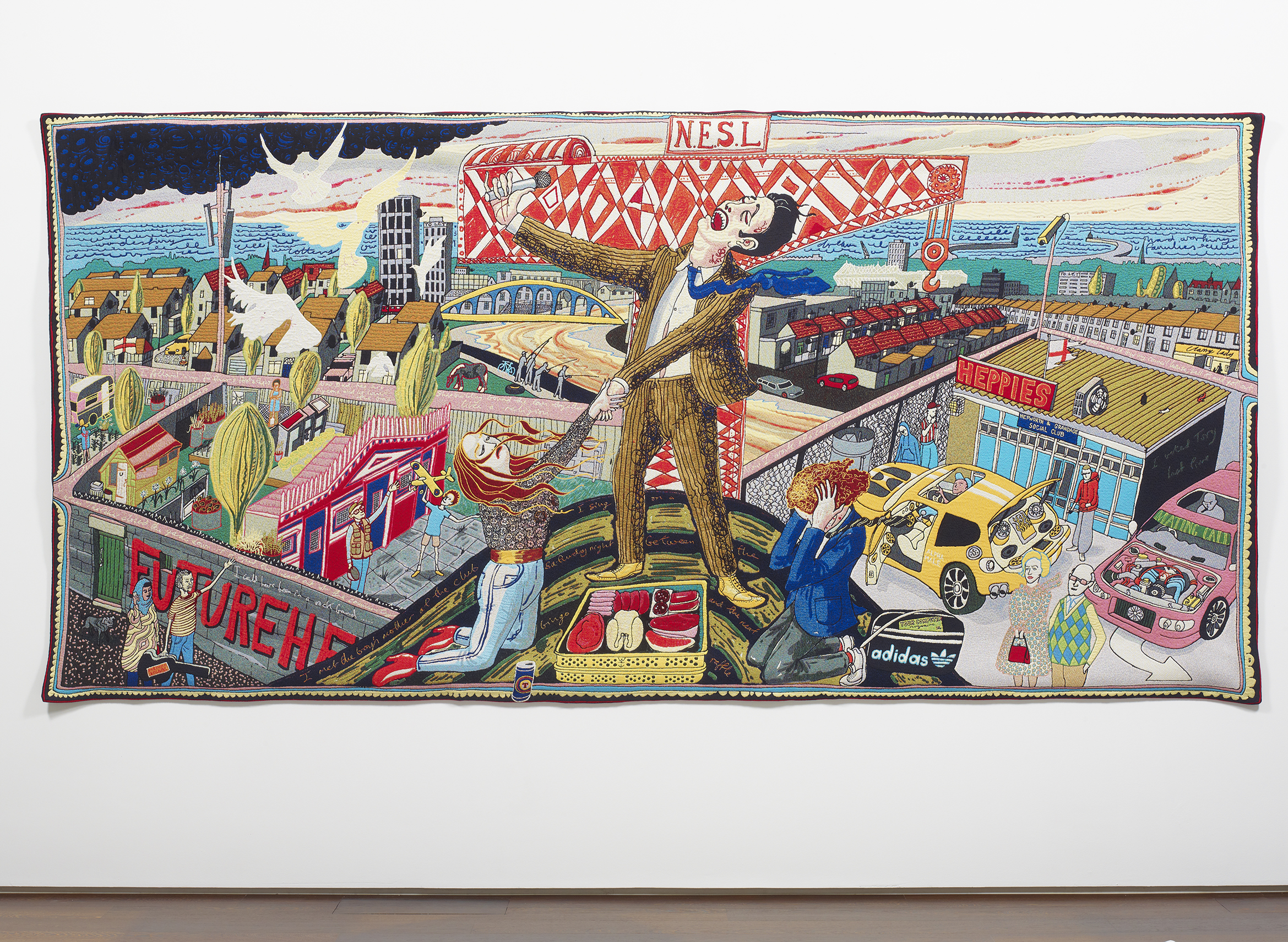 Grayson Perry The Agony in the Car Park 2012 © the artist. Arts Council Collection, Southbank Centre, London and British Council. Gift of the artist and Victoria Miro Gallery with the support of Channel 4 Television, the Art Fund and Sfumato Foundation with additional support from Alix Partners.