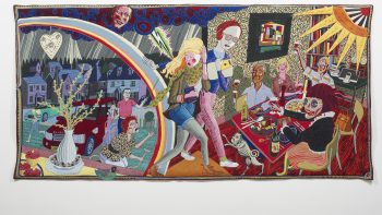 Grayson Perry Expulsion from Number 8 Eden Close 2012 © the artist. Arts Council Collection, Southbank Centre, London and British Council. Gift of the artist and Victoria Miro Gallery with the support of Channel 4 Television, the Art Fund and Sfumato Foundation with additional support from Alix Partners.