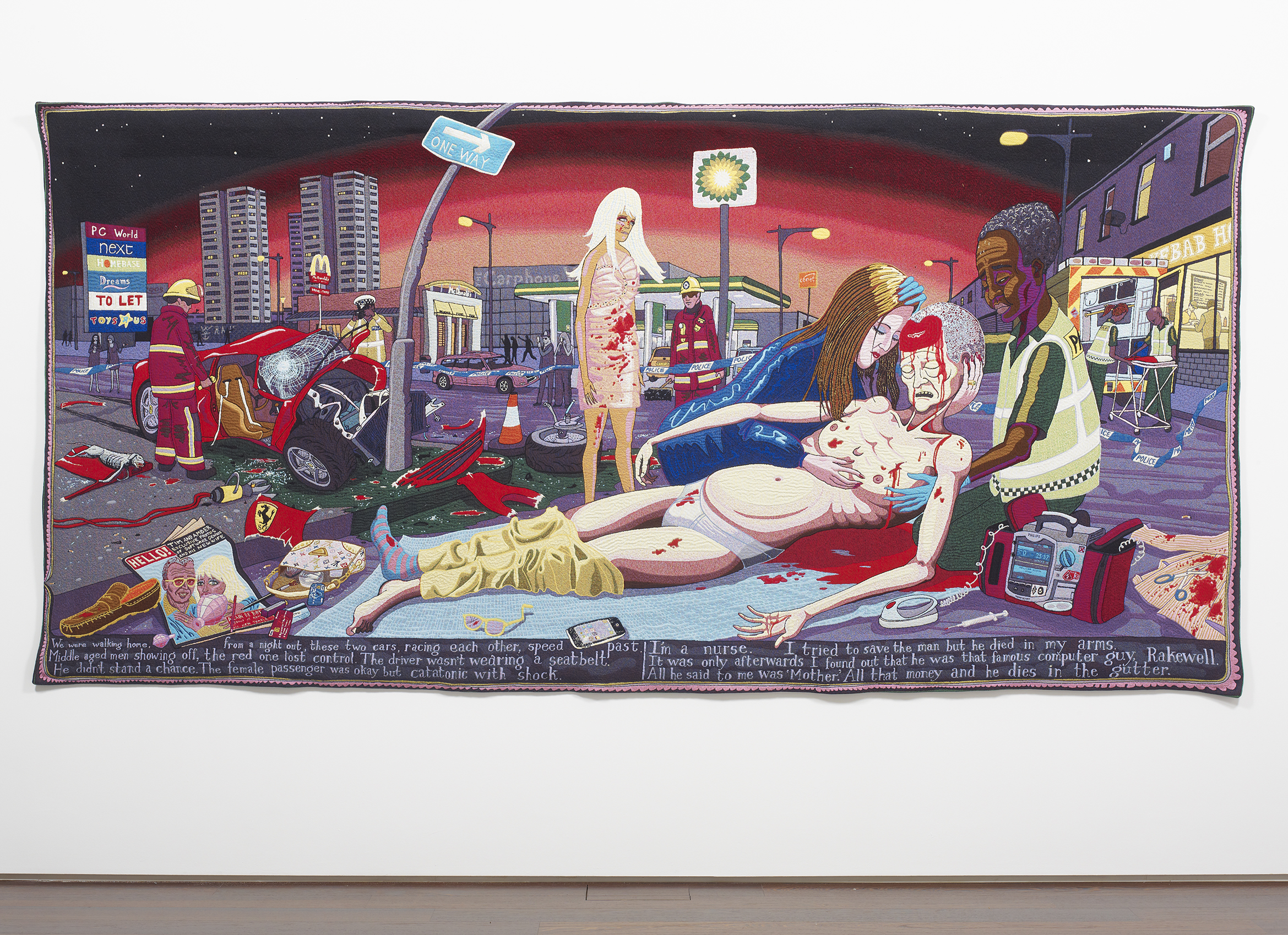 Grayson Perry #Lamentation 2012 © the artist. Arts Council Collection, Southbank Centre, London and British Council. Gift of the artist and Victoria Miro Gallery with the support of Channel 4 Television, the Art Fund and Sfumato Foundation with additional support from Alix Partners.